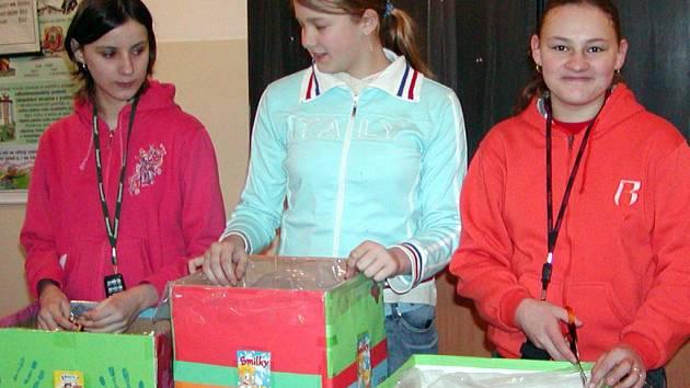Příprav celoročního projektu se ujaly také Klára Hásová, Věra Houšková a Michala Koutecká.