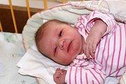 PETRA MICHÁLKOVÁ z Tymákova se narodila 10. února, hodinu a čtyřicet osm minut po půlnoci. Maminka Jana a tatínek Radek věděli dopředu, že si z porodnice ponesou malou slečnu. Petruška vážila 3490 gramů, měřila 48 cm.