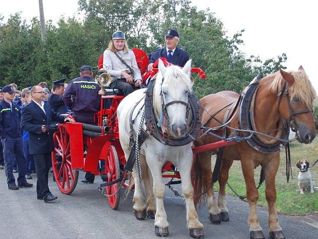 Chlum slavil sté narozeniny hasičského sboru.