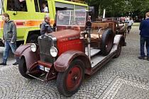 Sraz hasičských veteránů