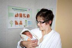 Šimon HOCHMAN z Volduch si pro svůj příchod na svět vybral datum 8. září. Narodil se ve 21 hodin a 35 minut. Maminka Aneta a tatínek Martin se nechali pohlavím svého prvního potomka překvapit až na porodní sál. Malý Šimon vážil 3320 gramů a měřil 52 cm.