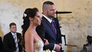 Svatba v hamru v Dobřívě