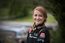 Rallyspirnt Kopná absolvovala Martina Šlehoferová jako spolujezdkyně Martina Semeráda.