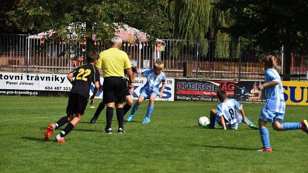 Žáci FC rozdrtili Rapid Plzeň