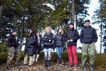 Z našeho okresu přijeli další ročník dobročinné akce podpořit mimo jiné i Martin Perlík, Pavel Sýkora s dcerou a manželkou a Julius Polomský (zprava).
