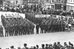 Historické snímky z prvomájových oslav