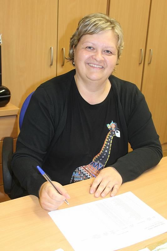 Jaroslava Šrámková, starostka