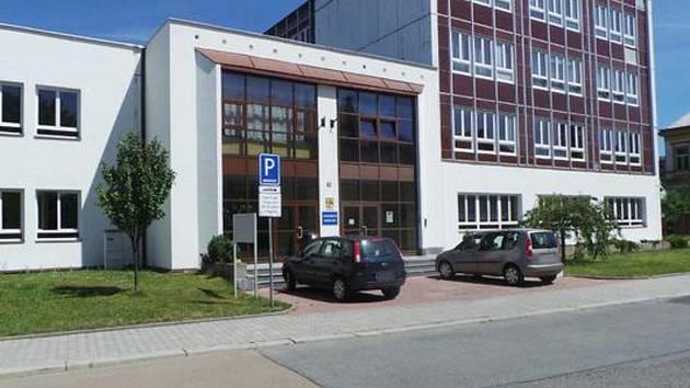 Den otevřených dveří v Gymnáziu Rokycany.