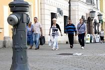 Hydranty v Rokycanech prošly rekonstrukcí, která zasáhla i ten na  Masarykově náměstí.
