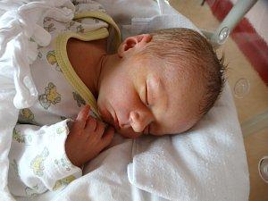 VIKTOR ŠMOLÍKse narodil 23. února v 6:10 mamince Heleně a tatínkovi Janovi z Kamenného Újezdu. Po příchodu na svět v plzeňské fakultní nemocnici vážil jejich prvorozený synek 3000 gramů a měřil 50 centimetrů.