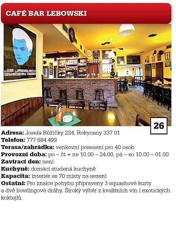 26. CAFÉ BAR LEBOWSKI