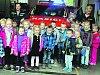 Velké ranní dobrodružství absolvovalo v pátek třiadvacet kluků a děvčátek z mateřinky v Litohlavech.