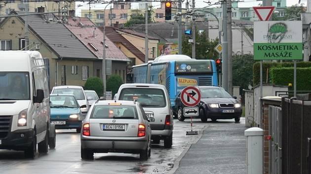 Změna se dotkne i dopravy v ulici J. Boreckého.