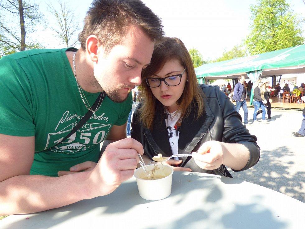 Druhý prodloužený květnový víkend patřil v Budějovicích prvnímu ročníku Bosch Fresh Festivalu.