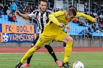 Roman Wermke ve Varnsdorfu bojuje s domácím Janem Juroškou.