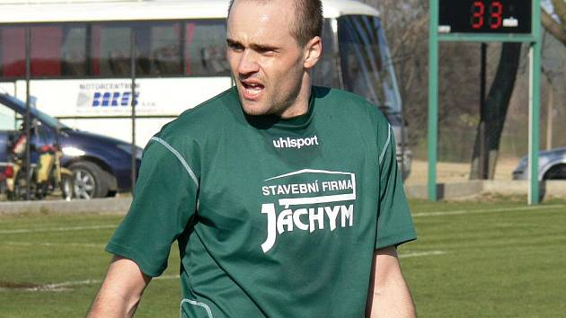 Pendl Petr Holba pomohl Jankovu B v domácím zápase s Mladým vybojovat bod.