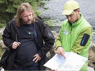 Pavel Hubený vlevo a Johannes Matt.