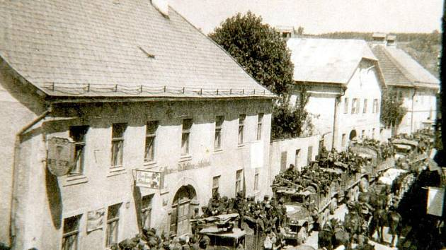 Freistadt v roce 1945.