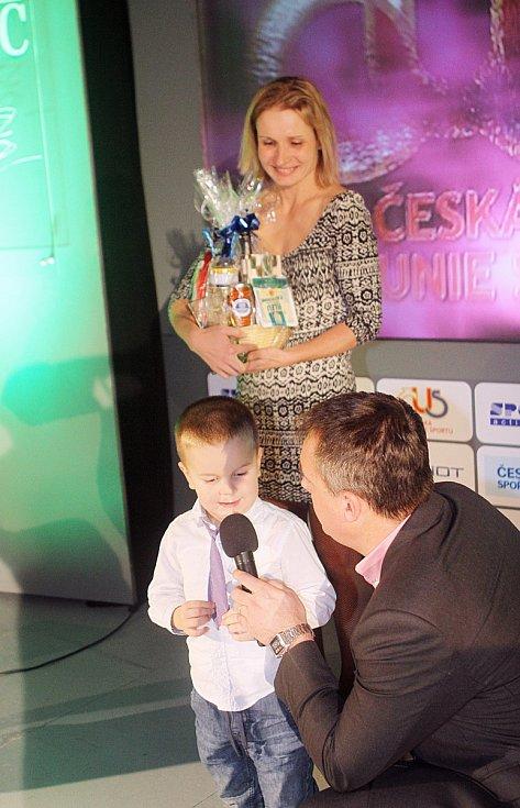 Sportovec roku 2015. Petra Krejčová se synem