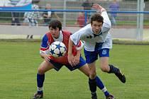 V sobotním Energie Cupu ve Vodňanech dříteňský Feffer bojuje s bechyňským Vogeltanzem.