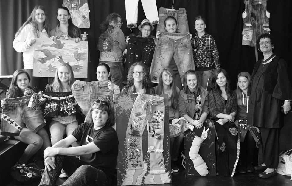 Školní výtvarná akce s nadaci Together, Rakousko.