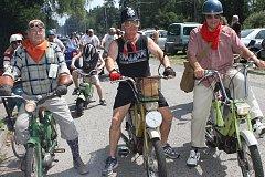 Mopedy v Jílovicích
