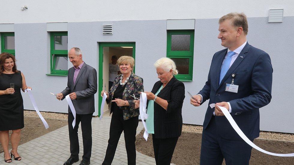 Nový pavilon interny v českobudějovické nemocnici.
