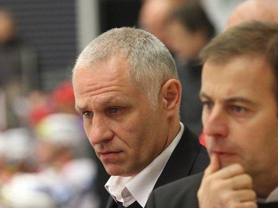 Trenér HC Mountfield České Budějovice Peter Draisaitl. Ilustrační foto.
