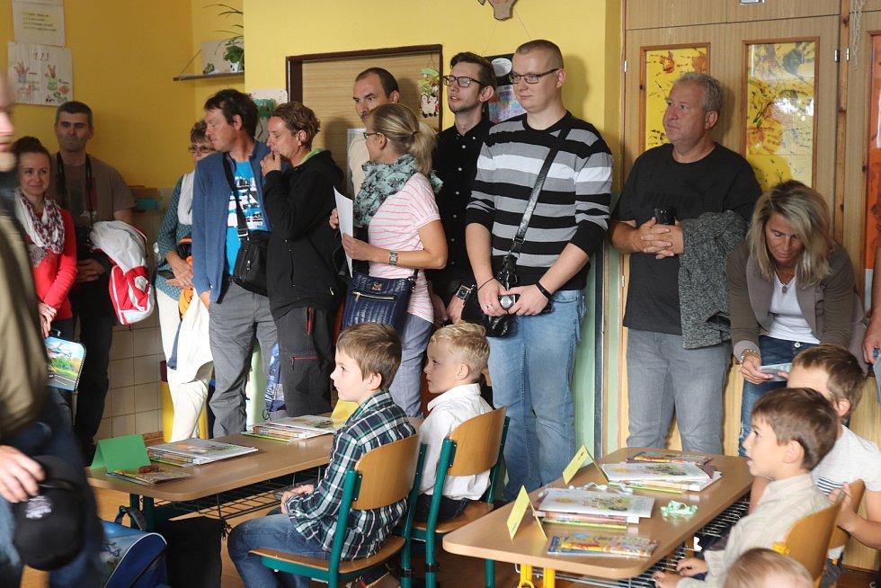 První školní den ZŠ Malá strana