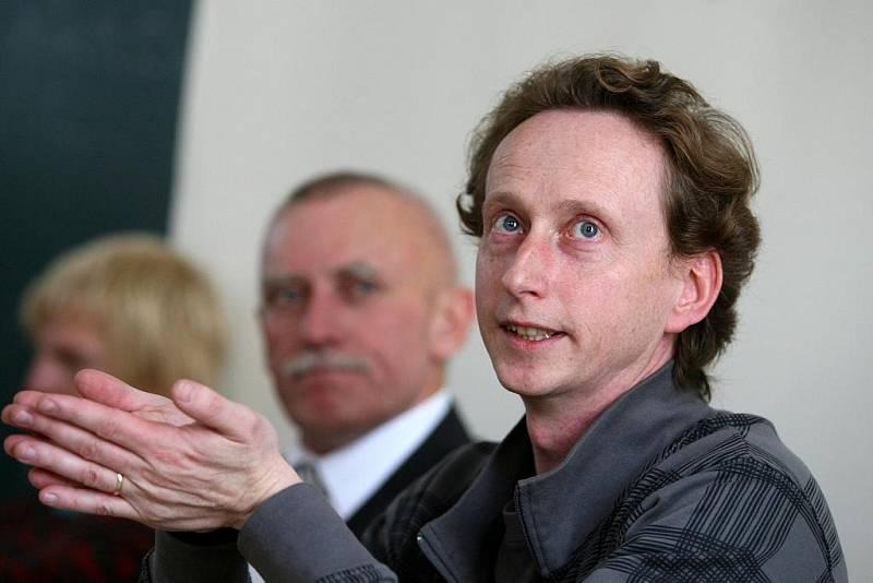 Jeden ze studentských vůdců českobudějovických vysokoškoláků v roce 1989, Martin Ehrlich.