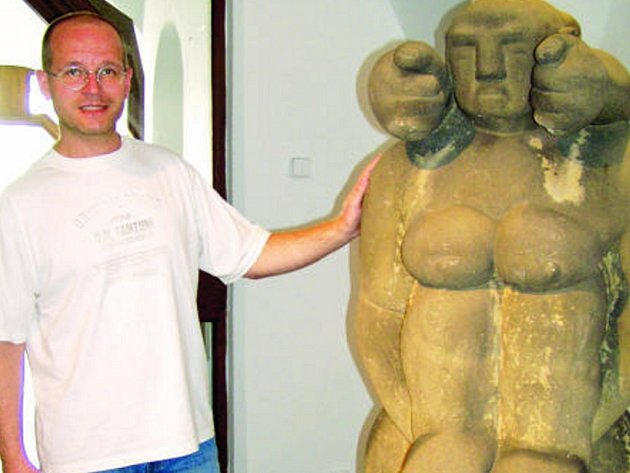 Sochař Bernard Reder