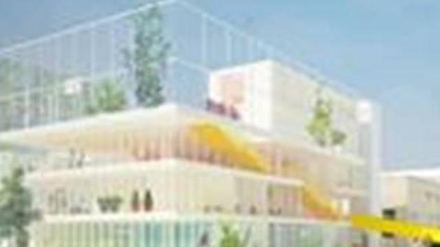 Budoucí podoba komunitního centra.