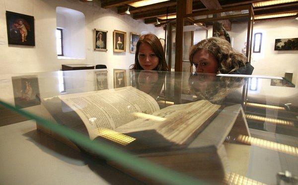 Muzeum sídlící ve volyňské tvrzi představuje zachráněné cennosti ze svých sbírek. Výstava skončí příští neděli 11.srpna.