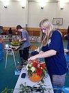 Tradiční podzimní výstava ovoce a zeleniny v českobudějovické zemědělské škole.