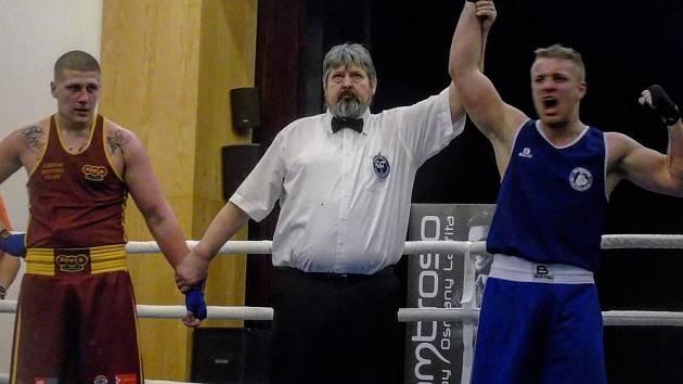 Jihočeský boxerský talent David Popovič