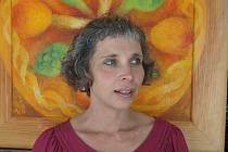 Ivana Bambasová, výtvarnice z Dobré Vody u Českých Budějovic, která se věnuje keramice a malování.