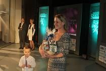 Petra Krejčová dorazila na podium se synem Matějem