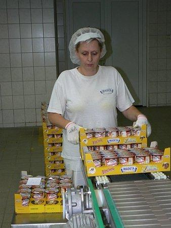 Výroba lipánků vMadetě.