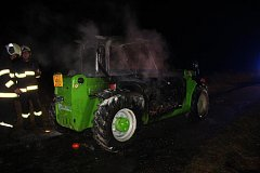 Škoda na nákladovém traktoru je 1,1 milionu korun.