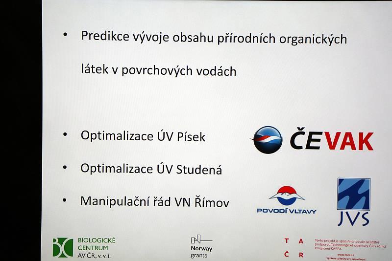 Projekt Pitná voda z Biologického centra AV ČR.