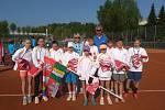 Výskyt a šíření nového typu koronaviru se projevilo i na programu tenistů. Na archivním snímku trojutkání v Rakousku.