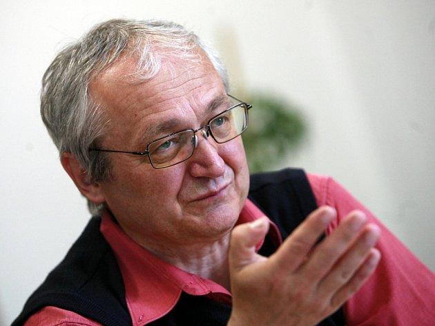 Tomeš Vytiska, jihočeský krajský radní pro školství a kulturu za KSČM.