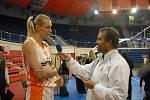 Na dotazy Deníku odpovídala ruská hvězda Maria Stěpanovová
