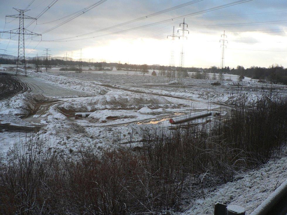 Zhruba třetina chybí k dokončení horkovodu z Elektrárny Temelín pro Teplárnu České Budějovice.