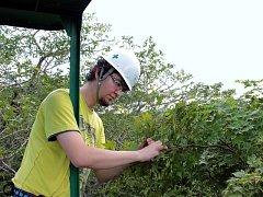 Jihočeští vědci se věnují výzkumu v terénu na japonském ostrově Hokkaidó.