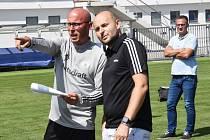 Do nového ročníku I. ligy půjdou fotbalisté Dynama s Ivo Táborským v nové roli vedoucího týmu.