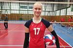 Věkem ještě juniorka se dokáže prosadit i v první lize žen. Michaela Brichtová.