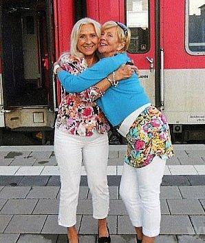 Sestry, které se neviděly 65let.