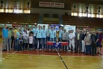 Setkání volejbalistů Jihostroje s fanoušky