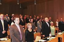 Českobudějovické zastupitelstvo má pětačtyřicet členů.